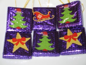Christmas tree chocolates