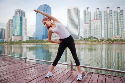 Woman stretching_Witthaya Phonsawat